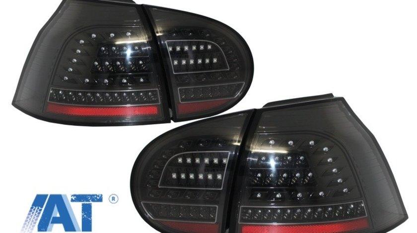 Stopuri FULL LED compatibil cu VW Golf V (2004-2009) Negru Urban Style