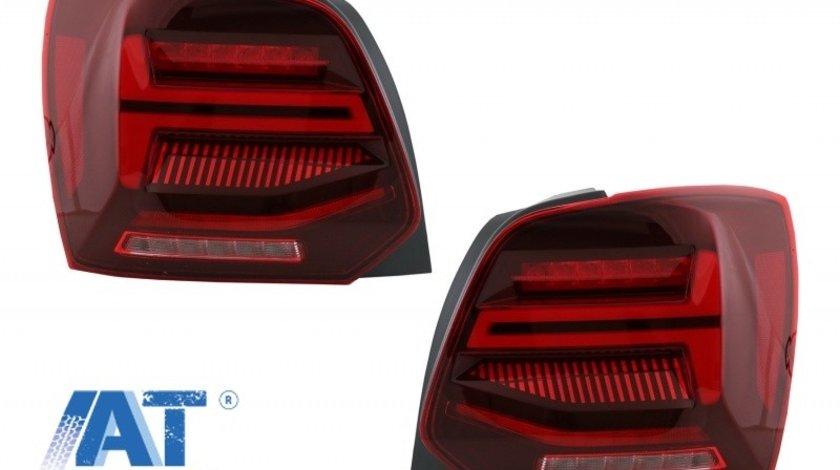Stopuri Full LED compatibil cu VW POLO 6R 6C 61 (2011-2017) Semnal Dinamic Led Vento Look