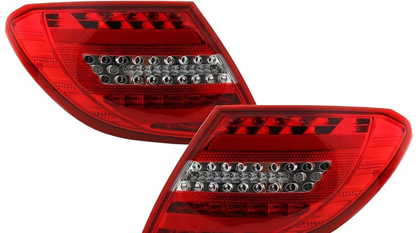 Stopuri Full LED Mercedes Benz C-Class W204 (07-11) Facelift Design