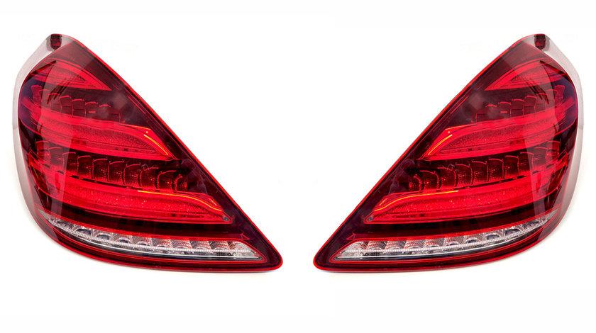 Stopuri Full LED Mercedes Benz S Class W222 (Dupa-2013) Facelift Design