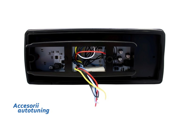 Stopuri Full LED Mercedes Benz W463 G-Class (1989-up) Rosu/Fumuriu