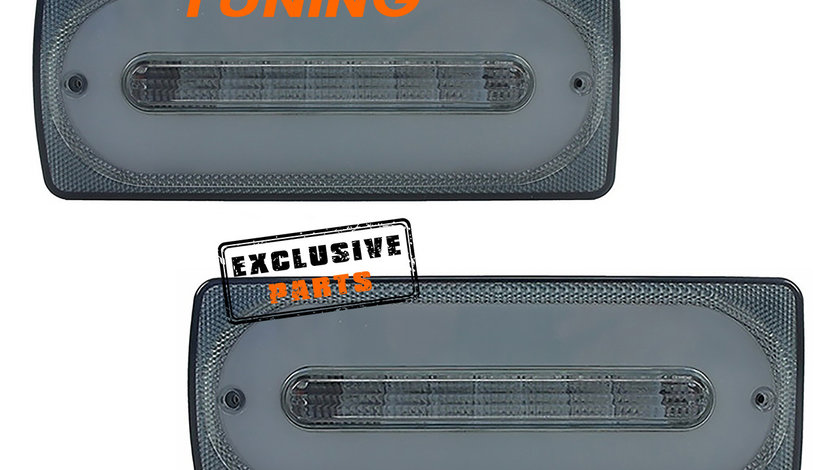Stopuri Full LED Mercedes Benz W463 G-Class (89-15) Fumurii