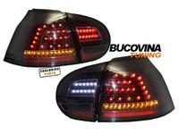 STOPURI FULL LED VW GOLF 5 (04-09) - NEGRU