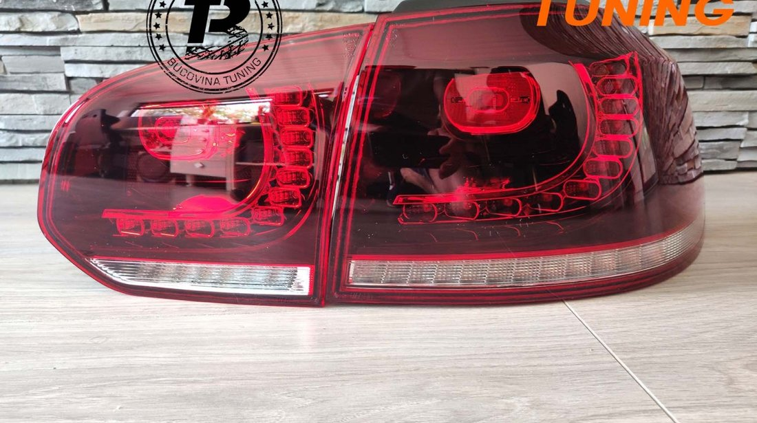 STOPURI FULL LED VW GOLF 6 (2008-2012)
