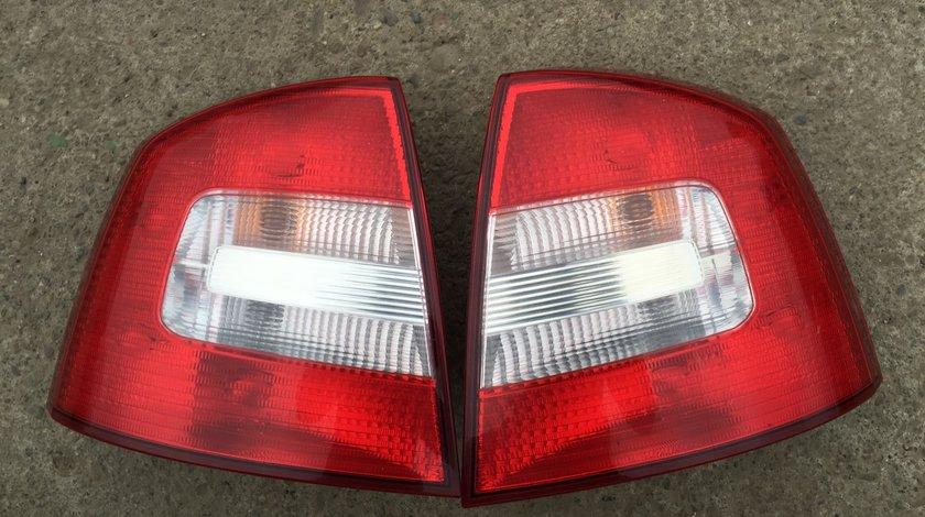 Stopuri lampi triple Skoda Octavia 2 Facelift 2009 2010 2011 2012