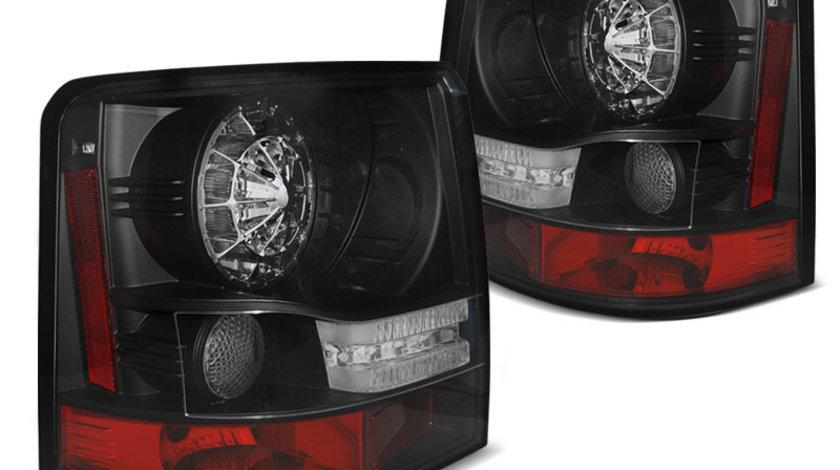 Stopuri Land Rover Range Rover Sport 2005-2009 Negru pe LED