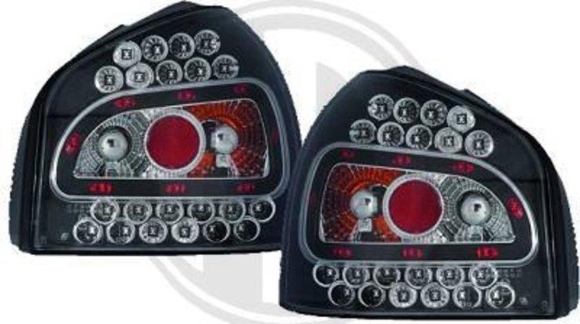 STOPURI LED AUDI A3 8L FUNDAL BLACK -COD 1030994