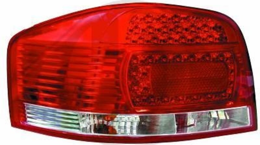 STOPURI LED AUDI A3 8P FUNDAL RED/CRISTAL -COD 1031895
