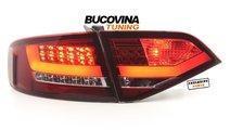 STOPURI LED AUDI A4 B8 8K LIMOUSINE (08-11) - RED ...