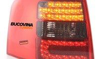 STOPURI LED AUDI A6 4B AVANT (97-04) - FUNDAL ROSU...