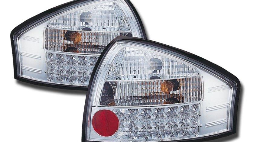 STOPURI LED AUDI A6 4B FUNDAL CROM -COD FKRLXLAI8001