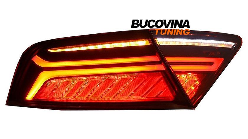 Stopuri LED Audi A7 4G (10-14) Facelift Light Bar Design