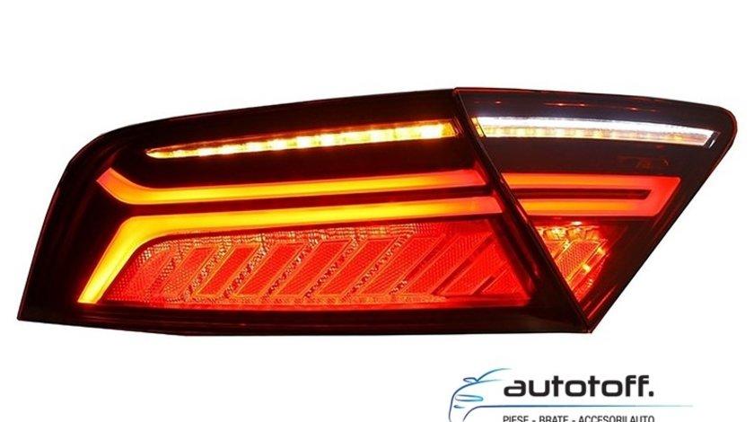 Stopuri LED Audi A7 4G Facelift (2010-2014) Light Bar Design