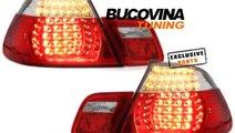 STOPURI LED BMW 3er E46 COUPE (99-03) - ROSU CRIST...