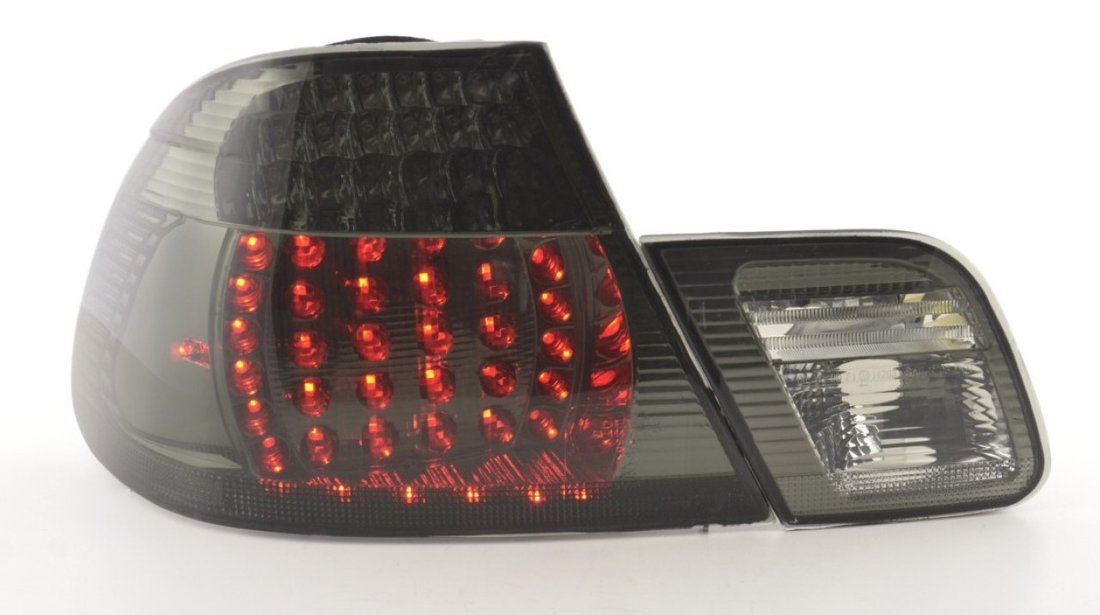 Stopuri LED BMW E46 Coupe Fumuriu