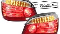 Stopuri LED BMW E60 2003~2007 Rosu/Clar DEPO LCI F...
