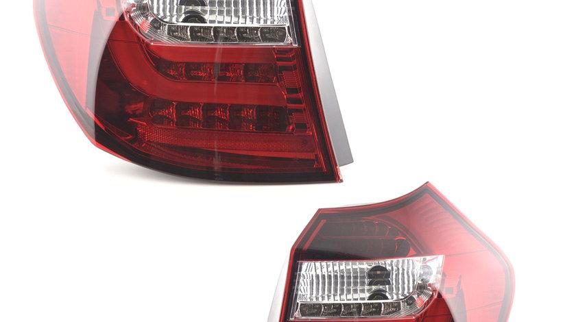 Stopuri LED BMW E81 E87 Seria 1Rosu Cristal