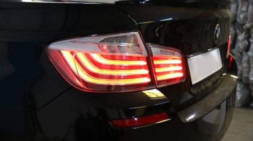 Stopuri LED BMW F10 Seria 5 Clar