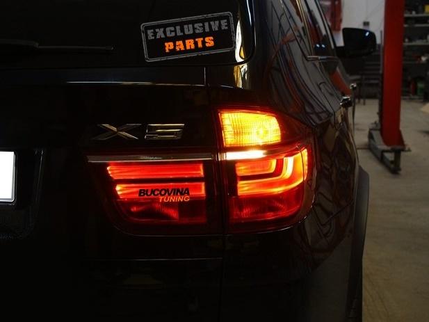 STOPURI LED BMW X5 E70 (2006-2013) LCI LOOK
