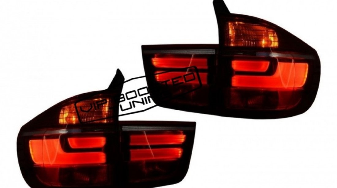 Stopuri LED BMW X5 E70 (2007-2010) Light Bar LCI Facelift Look