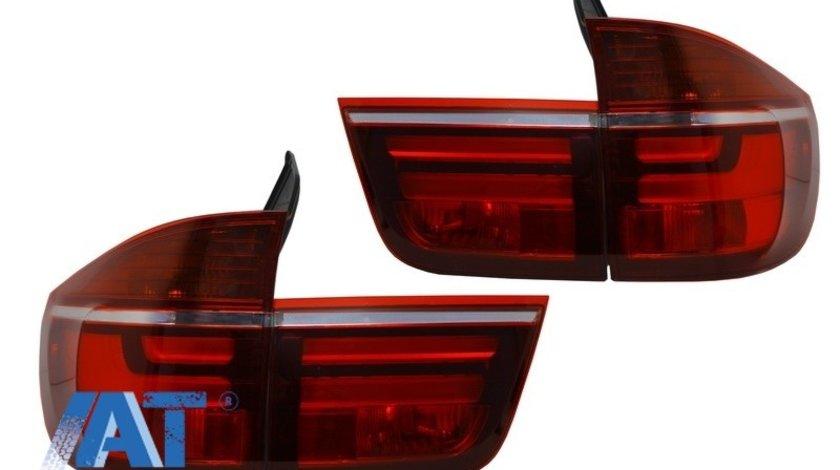 Stopuri LED compatibil cu BMW X5 E70 (2007-2010) Light Bar LCI Facelift Look