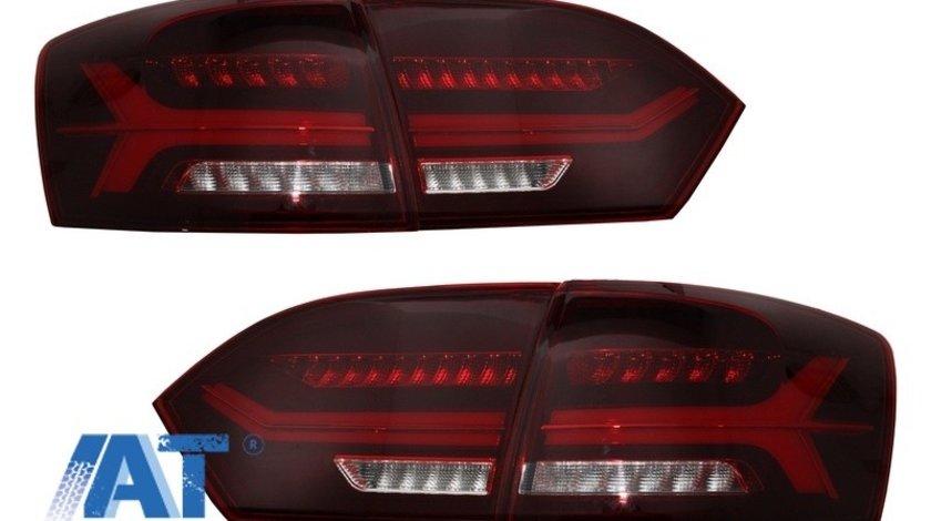 Stopuri LED compatibil cu VW Jetta Mk6 VI 6 (2012-2014) Semnal Secvential Dinamic