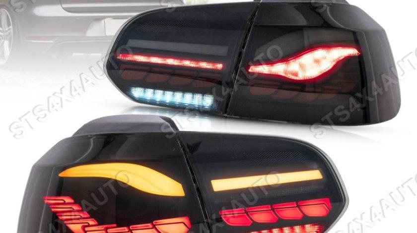 STOPURI LED CU DYNAMIC SEMNALIZARE VW Golf 6 2008-2013 SMK [M4 STYLE]