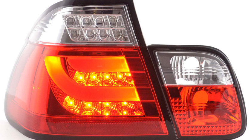 Stopuri LED Fibra Optica BMW E46 Seria 3 Limousine