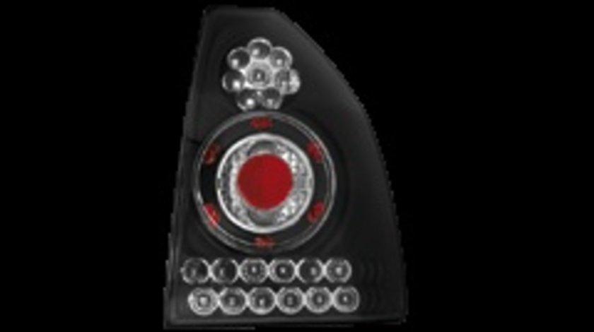 STOPURI LED HONDA CIVIC COUPE FUNDAL NEGRU -cod RH05LLB