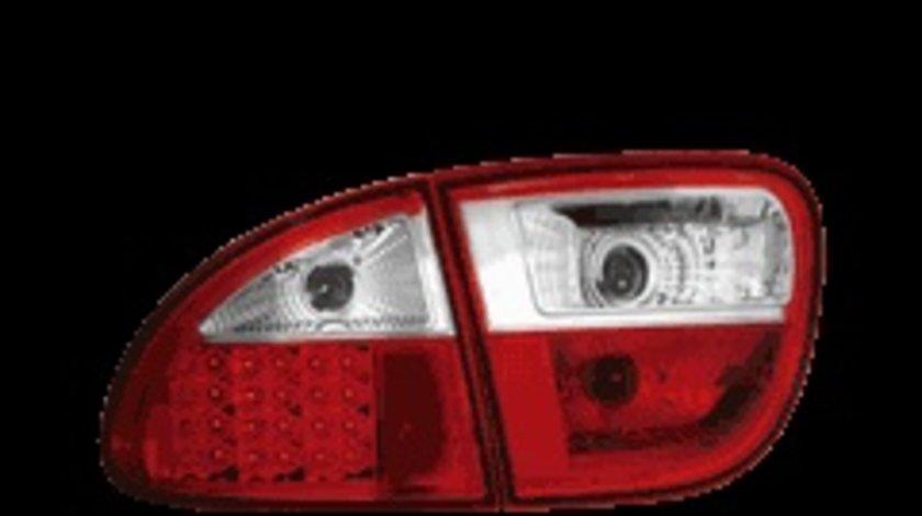 STOPURI LED SEAT TOLEDO/LEON FUNDAL ROSU-CRISTAL -cod RSI02LRC
