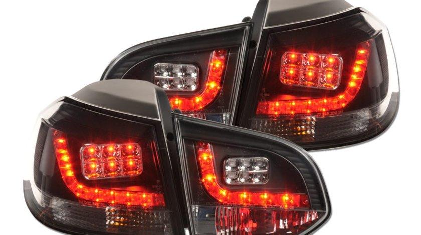 STOPURI LED VW GOLF 6 FUNDAL BLACK -COD FKRLXLVW010015