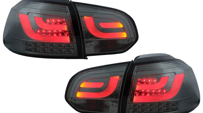 Stopuri LED VW Golf 6 VI (2008-2013) Tube Light Bar Design Gri Fumuriu
