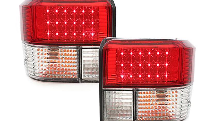 Stopuri LED VW T4 (90-03) Rosu Cristal