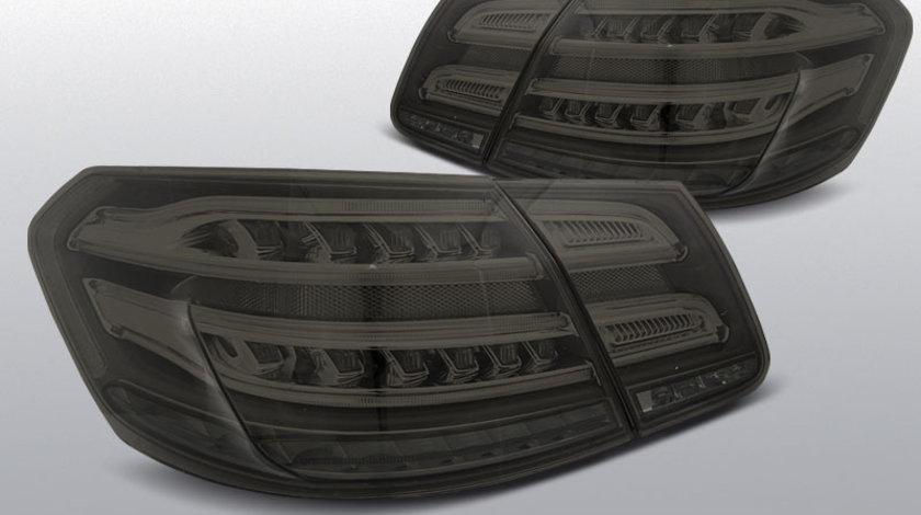 Stopuri MERCEDES W212 E-Class 2009-2013 model fumuriu cu LED