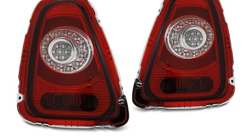 Stopuri MINI COOPER R56 / R57 2010-2014 Rosu Alb model LED BAR