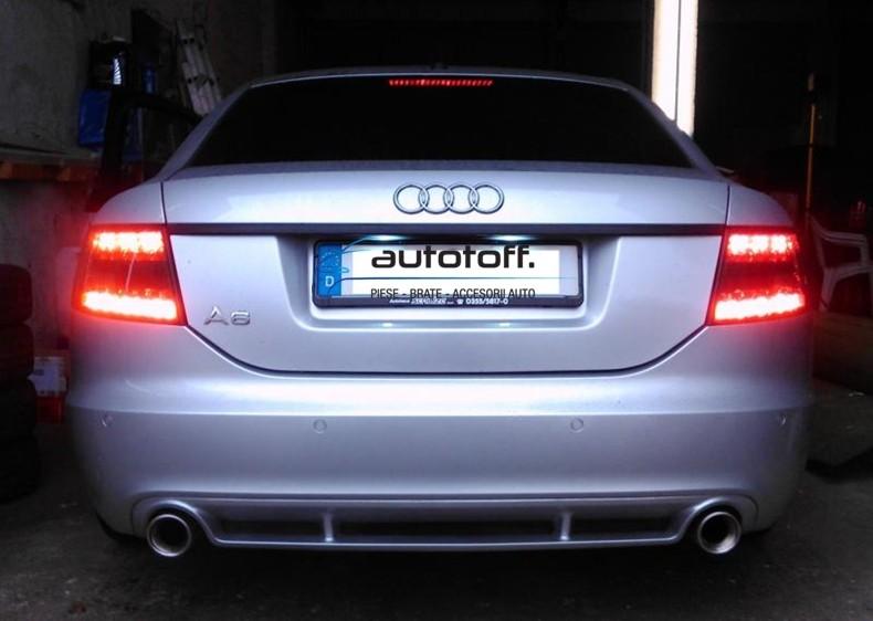 Stopuri NOI Audi A6 4F C6 (04-08) cu NEON si ELD