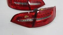 Stopuri Originale Facelift Led Neon Audi A4 8K Ava...