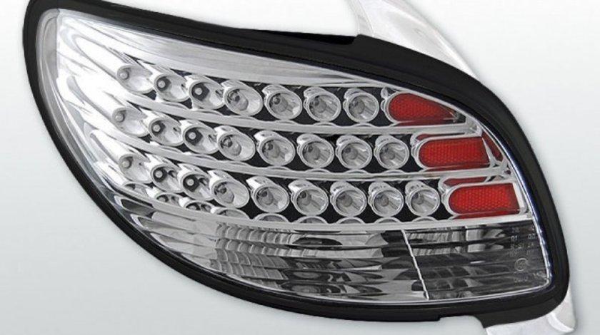 Stopuri Peugeot 206 model Cromat pe LED