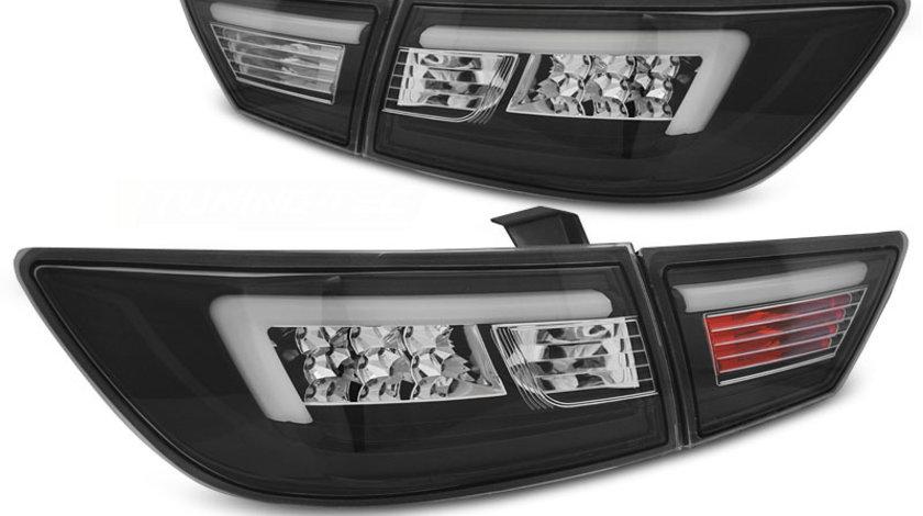 Stopuri RENAULT CLIO 4 dupa 2013- Hatchback LED BAR Negru
