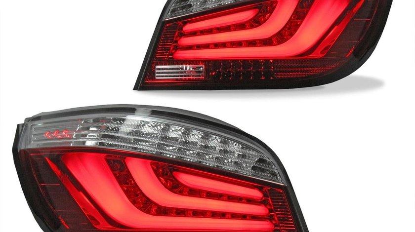 Stopuri rosii cu LED lightbar pentru BMW E60 Limo 2003-2007