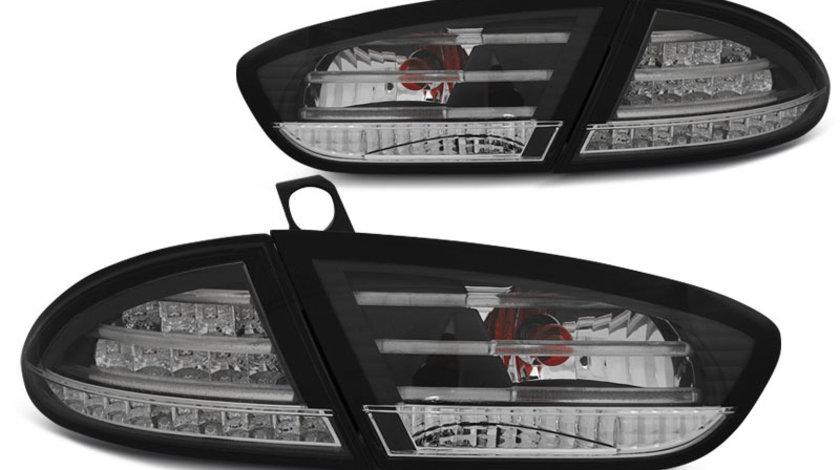 Stopuri Seat Leon 2009-2013 Negru pe LED