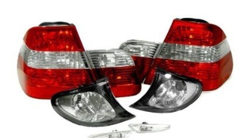 Stopuri semnalizari laterale frontale BMW Seria 3 E46 1998 2005 - SET 8 piese