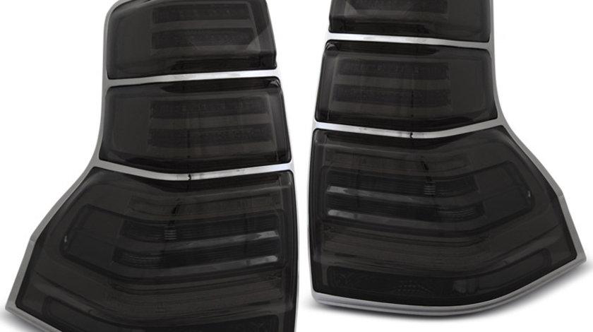Stopuri Toyota Land Cruiser 150 2009-2013 Fumuriu pe LED