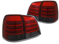 Stopuri Toyota Land Cruiser FJ200 2007-2015 Rosu Fumuriu pe LED