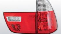 Stopuri tuning BMW X5 E53 Rosu Alb
