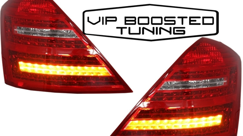Stopuri TUNING LED MERCEDES S Class W221 (2005-2012) Facelift Design