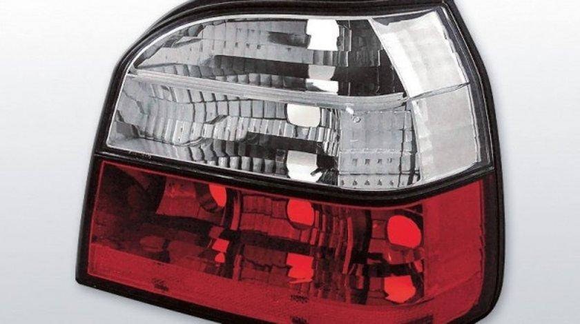 Stopuri VW Golf 3, model Rosu Alb