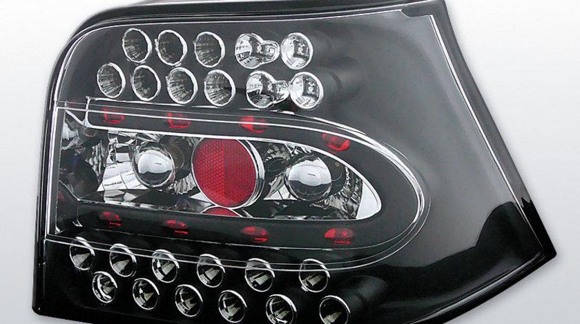 Stopuri VW Golf 4 1997-2003 Negru pe LED
