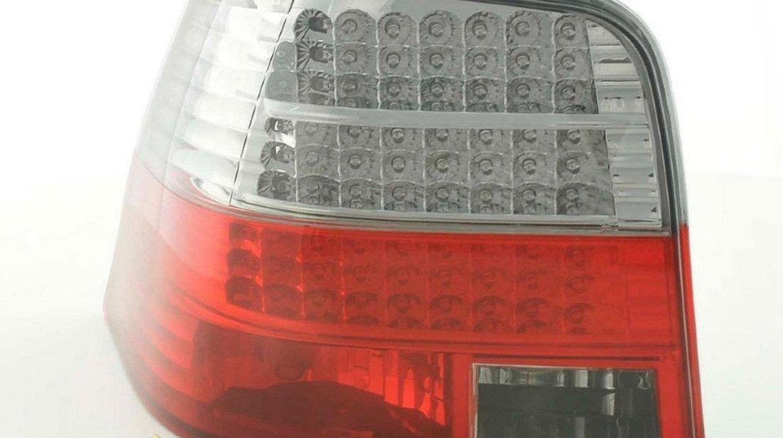 Stopuri VW Golf 4 LED Fumuriu Rosu
