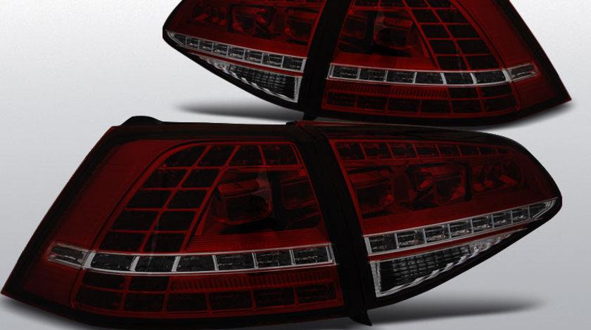 Stopuri VW GOLF 7 2013-Fumurii, LED rosu GTI LOOK, HATCHBACK